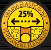Trajna elastičnost 25%